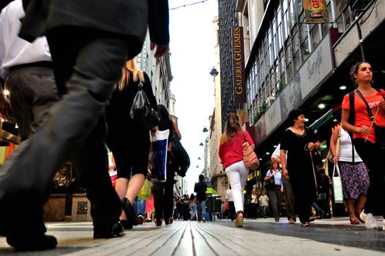 paseos de compras en buenos aires, calle florida